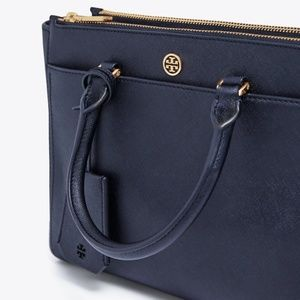 Tory Burch Bags - NWT TORY BURCH ROBINSON SMALL DOUBLE-ZIP TOTE